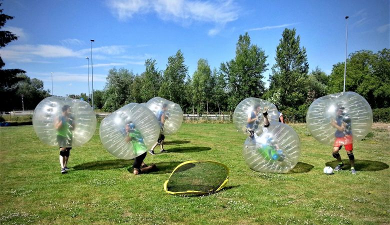 Crazy Stag Prague - BUBBLE FOOTBALL